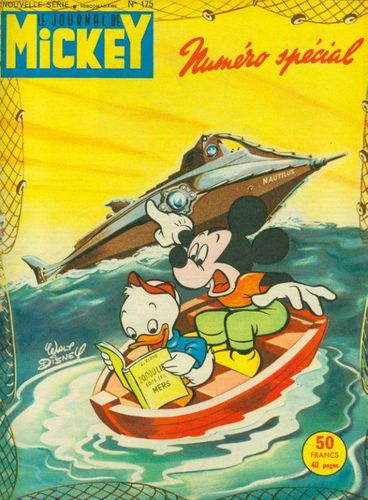 BD le journal de Mickey n 175-1955