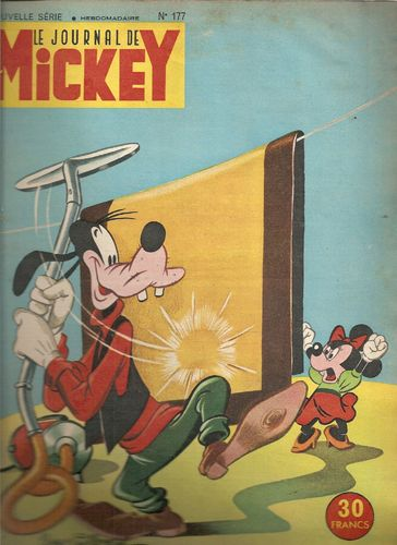 BD le journal de Mickey n 177-1955