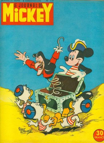 BD le journal de Mickey n 179-1955