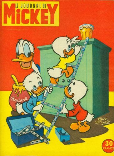 BD le journal de Mickey n 180-1955