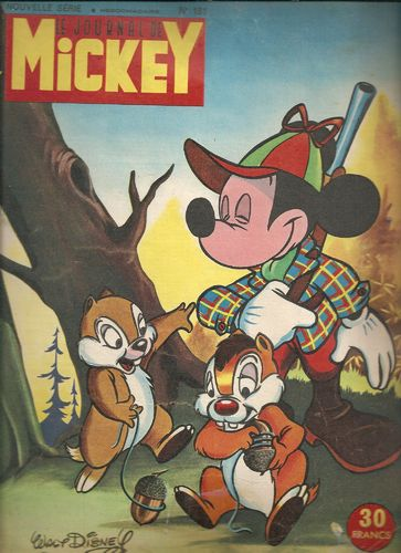BD le journal de Mickey n 181-1955