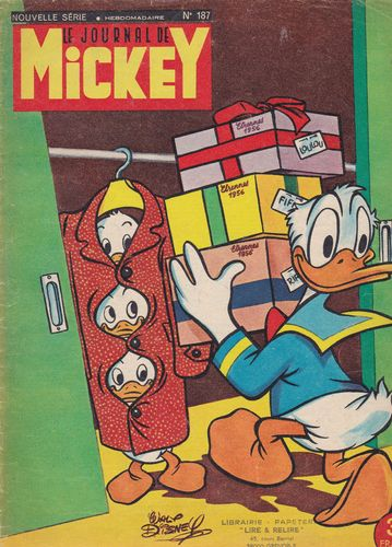 BD le journal de Mickey n 187-1955