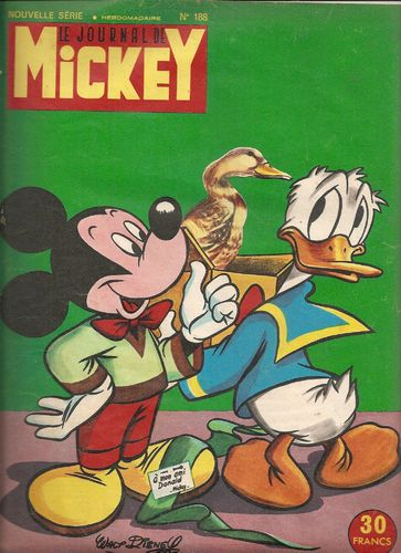 BD le journal de Mickey n 188-1955