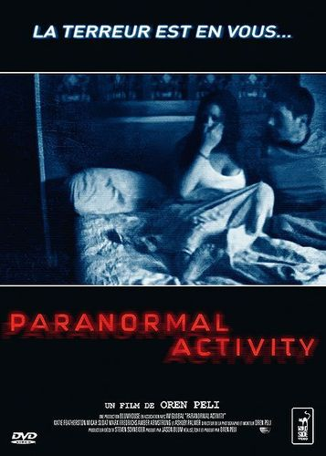 DVD paranormal activity