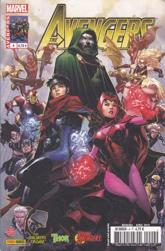 BD the avengers N°4 marvel  2012