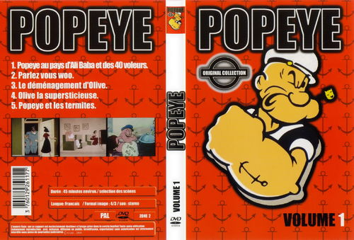 DVD popeye n°1 original collection