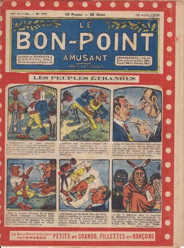 BD hebdomadaire le bon point N° 561 1923