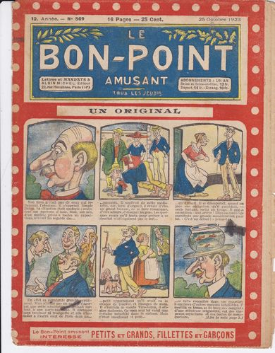 BD hebdomadaire le bon point N° 569 1923