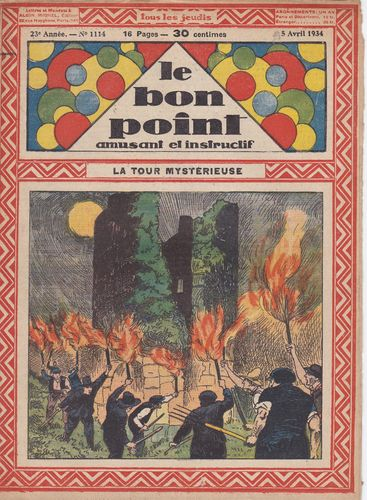 BD hebdomadaire le bon point N° 1114 1934