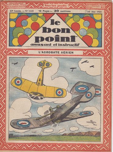 BD hebdomadaire le bon point N° 1119 1934