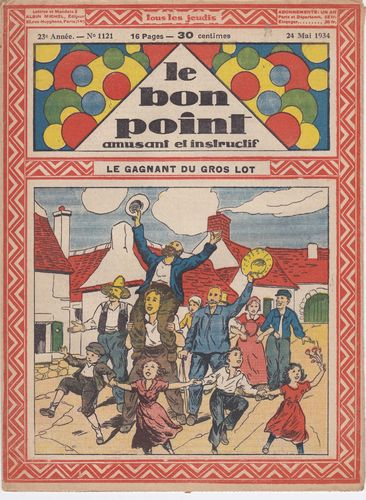 BD hebdomadaire le bon point N° 1121 1934