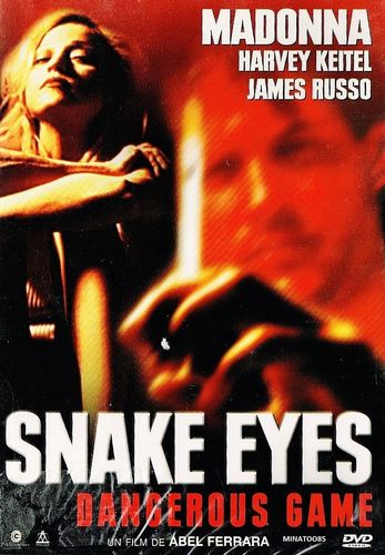 DVD snake eyes dangerous game 1993