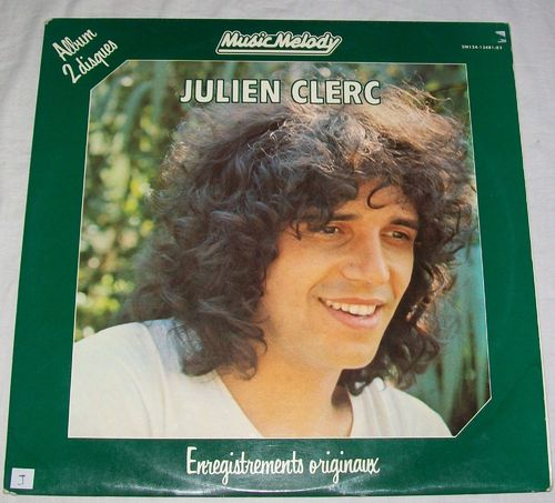 VINYL 33T julien clerc music melody 1980