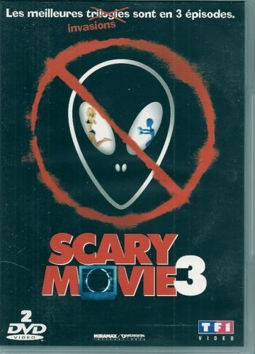 DVD scary movie 3 2 dvd 2003