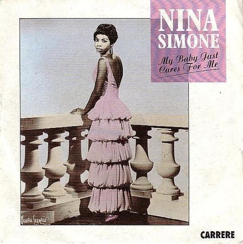 VINYL45 T nina simone my baby just cares for me 1987