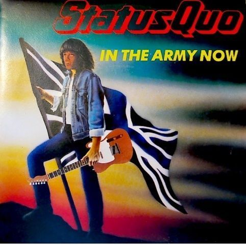 VINYL45T status quo in the army now 1986