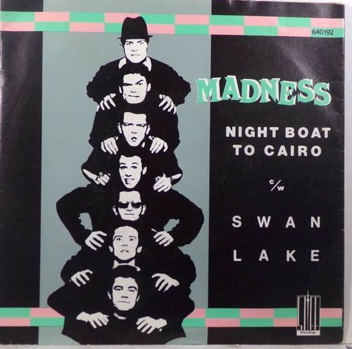 VINYL45T madness night boat to cairo 1979