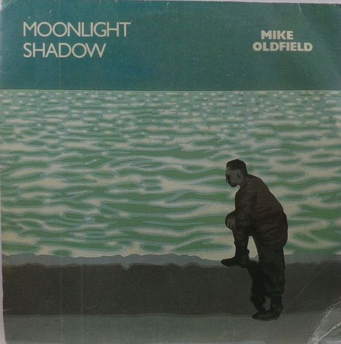 VINYL45T mike oldfield moonlight shadow 1983