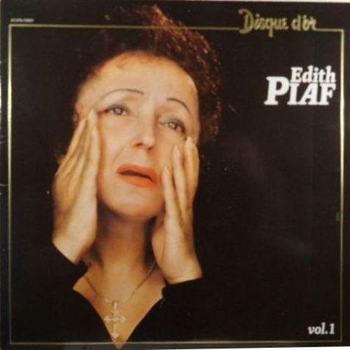 VINYL 33 T edith piaf disque d'or vol 1