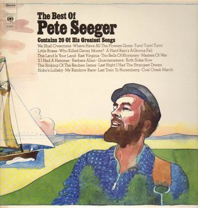 VINYL33 T the best of pete seeger 1972