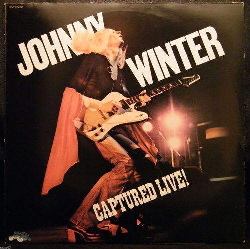 VINYL 33 T johnny winter captured live 1976