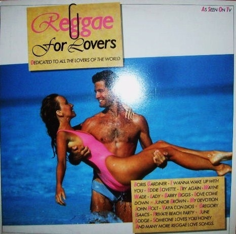 VINYL 33T reggae for lovers compil  1988