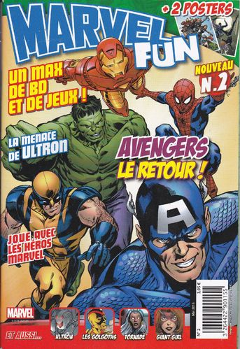 BD revue Marvel fun N° 2 2015
