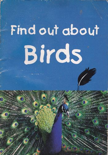 LIVRE find out about birds 2002 (en anglais)