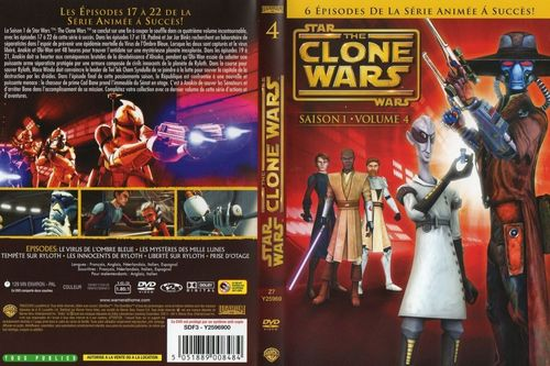 DVD série the clones war saison 1 volume 4 2009