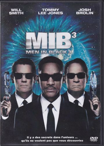 DVD Men in black 3  2012