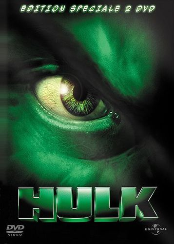 DVD Hulk édition collector 2 dvd 2001 Ang Lee