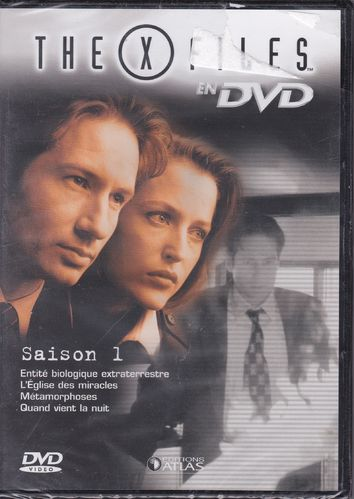 DVD the x files saison 1 vol 5 série tv de science fiction 2000(neuf emballé)