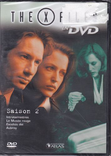 DVD the x files saison 2 vol 9 série tv de science fiction 2000(neuf emballé)