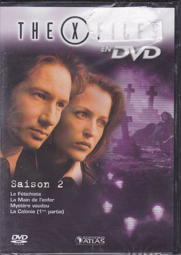 DVD the x files saison 2 vol 10 série tv de science fiction 2000(neuf emballé)