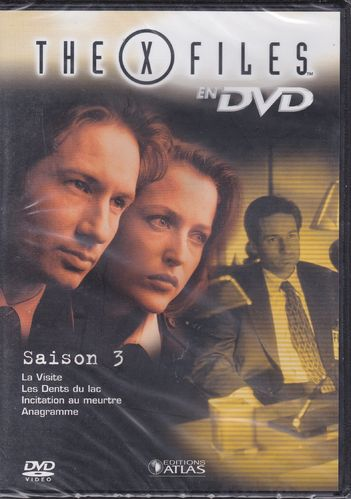 DVD the x files saison 3 vol 19 série tv de science fiction 2000(neuf emballé)