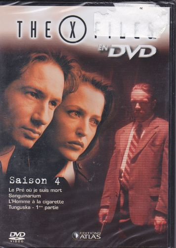 DVD the x files saison 4 vol 21 série tv de science fiction 2000(neuf emballé)