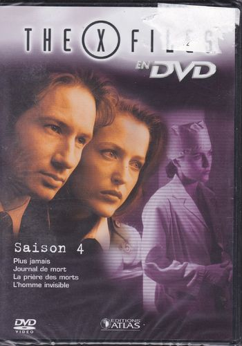 DVD the x files saison 4 vol 23 série tv de science fiction 2000(neuf emballé)