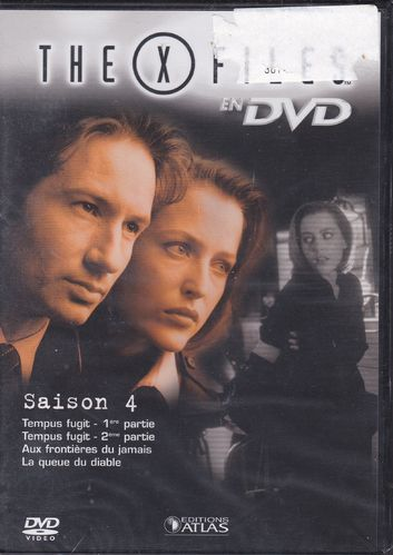 DVD the x files saison 4 vol 24 série tv de science fiction 2000(neuf emballé)