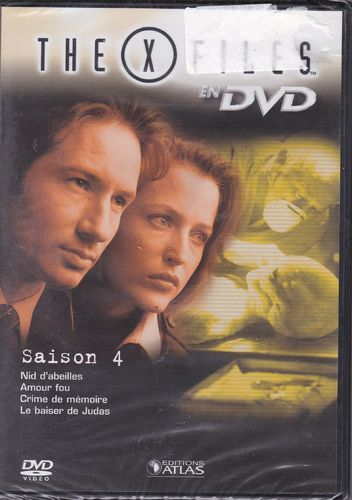 DVD the x files saison 4 vol 25 série tv de science fiction 2000(neuf emballé)