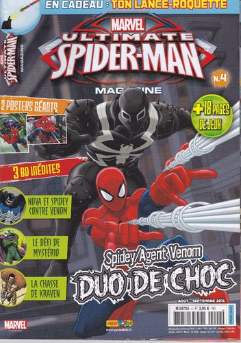 BD magazine marvel ultimate spiderman et ses amis N°4 2015