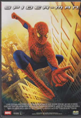 DVD spider-man 1 et 2 marvel ( 2DVD ) 2002