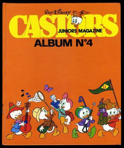 BD castors juniors magazine album N°4 -1978