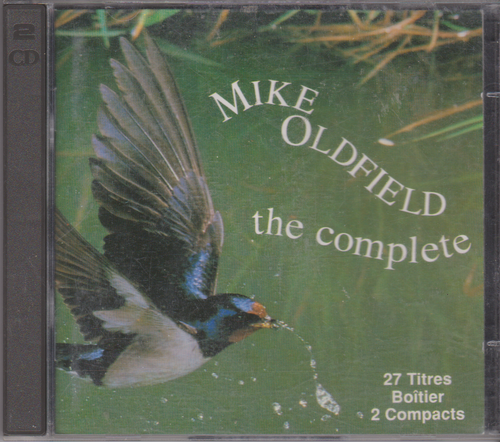 CD mike oldfield the complete (2cd) 1985