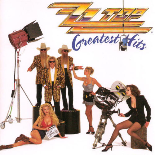 CD zz top greatest hits 1992
