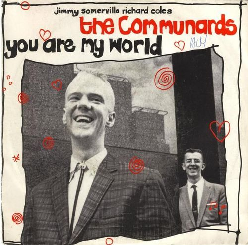 VINYL 45T the communards you are my world 1985