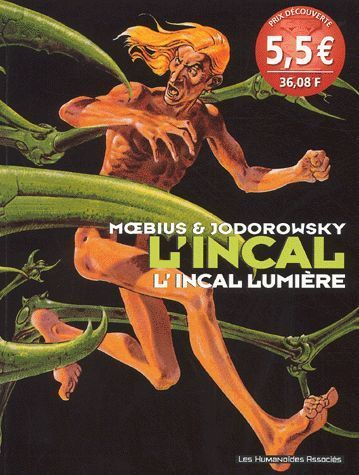 BD  L incal tome 2 l'incal lumiére moebius jodorowsky 2002