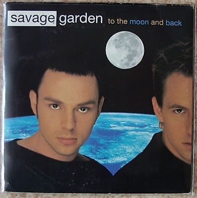 CD Savage Garden to the moon and back