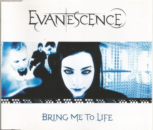 CD Evanescence bring me to life 2003