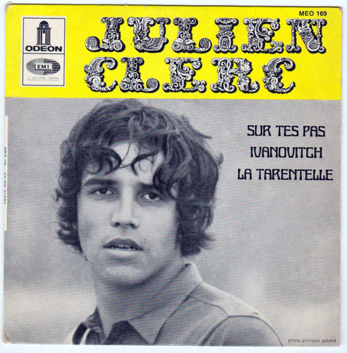 VINYL 45T julien clerc ivanovitch 1968