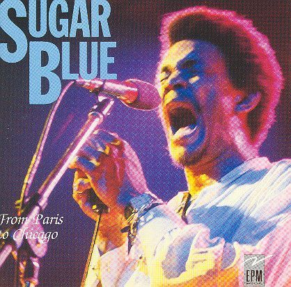 CD sugar blue from paris to chicago 1988